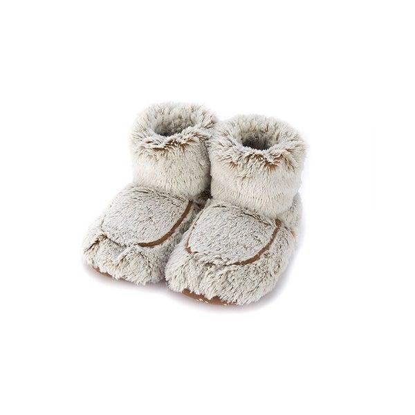 !Warmies | Plush Body Boots Brown Marshmallow