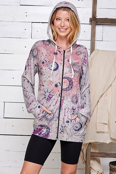OUT OF THIS WORLD HOODIE JACKET