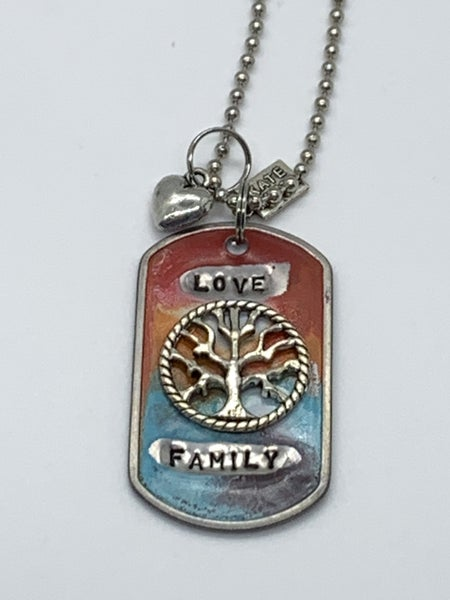 Kate Mesta Love Family Necklace