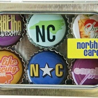 North Carolina Magnet - Six Pack