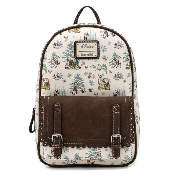 LOUNGEFLY X DISNEY BAMBI FOREST MINI BACKPACK