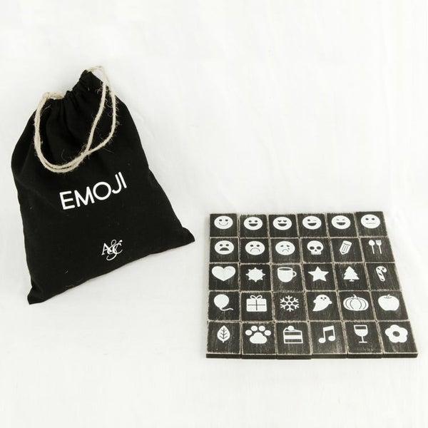 Letterboard Emojis - Black
