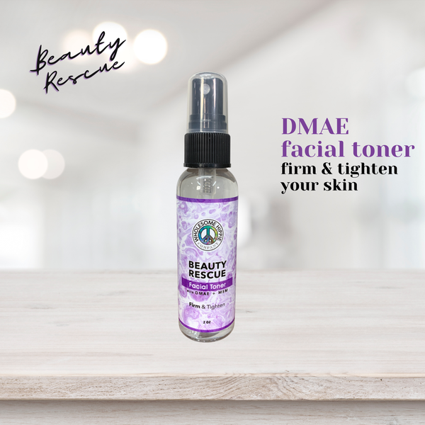 2oz Beauty Rescue Facial Toner with DMAE & MSM