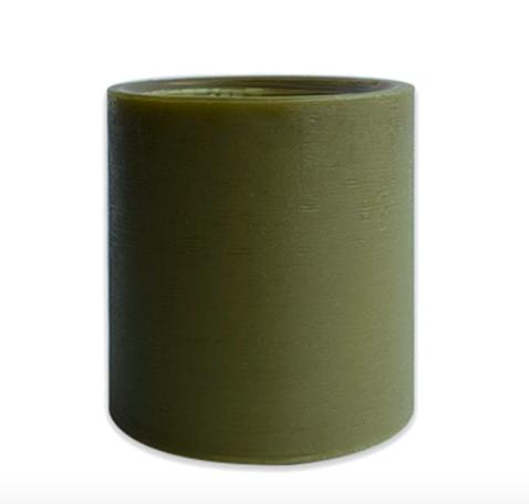 Spiral Light Candles - Vintage Wood