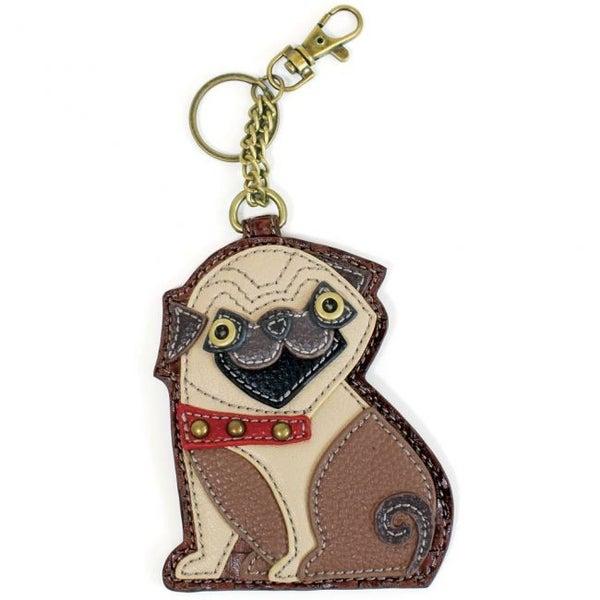 Chala - Pug - Key Fob/Coin Purse