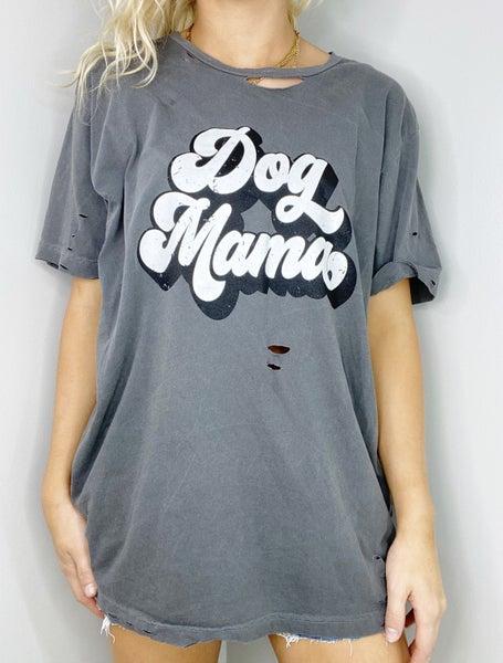 Dog Mama Vintage Graphic Tee
