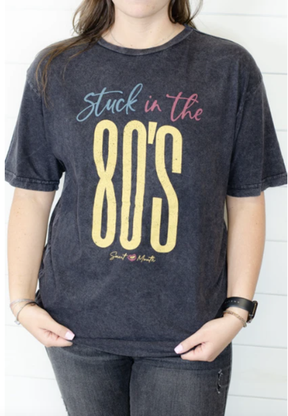 Stuck in the 80's Graphic Tee