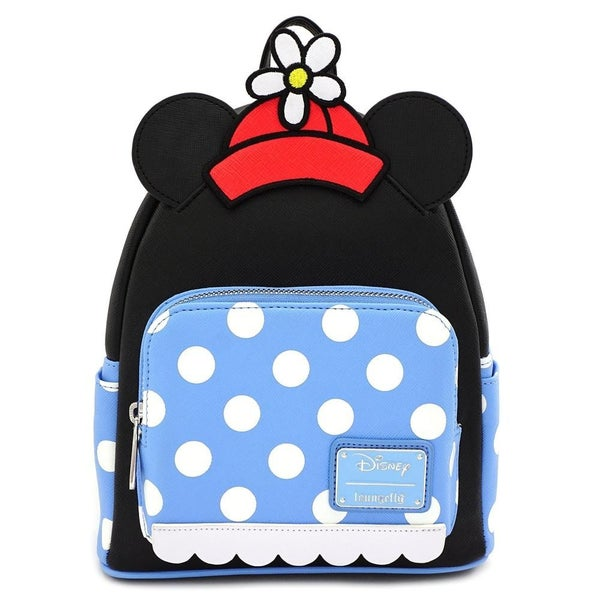 LOUNGEFLY X DISNEY POSITIVELY MINNIE POLKA DOT MINI BACKPACK