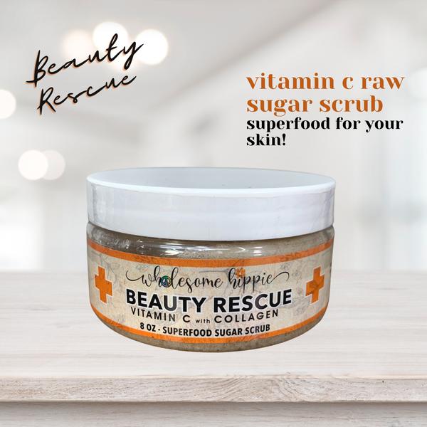 RETIRING Vitamin C Superfood Scrub with Collagen 8oz