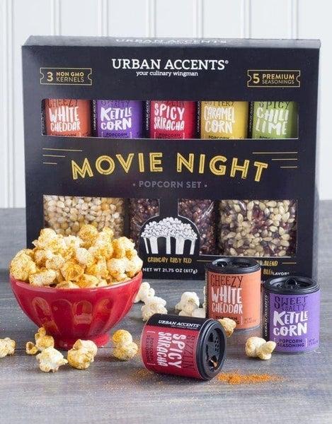 Movie Night Popcorn Gift Set  Collection