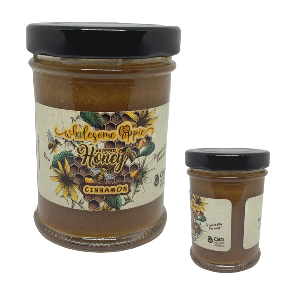 C-BEE-D Raw Honey 3oz, 300MG - 5 Flavors