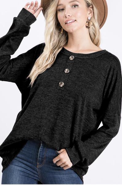 Heimish Charcoal Sweater