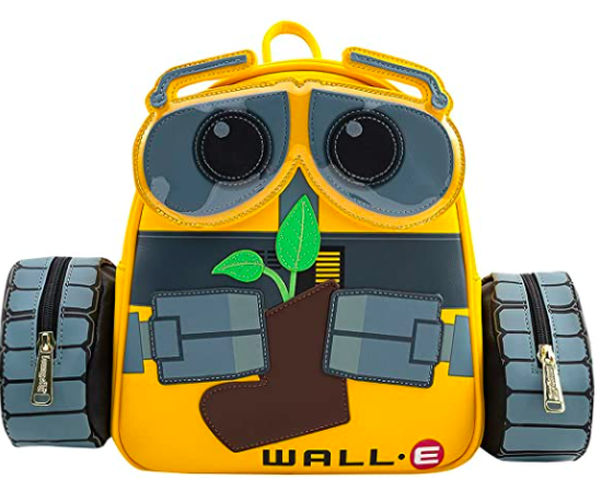 !LOUNGEFLY X PIXAR  WALL-E PLANT BOOT MINI BACKPACK