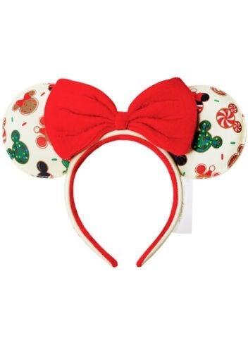 LOUNGEFLY X Disney M&M Christmas Cookies Headband