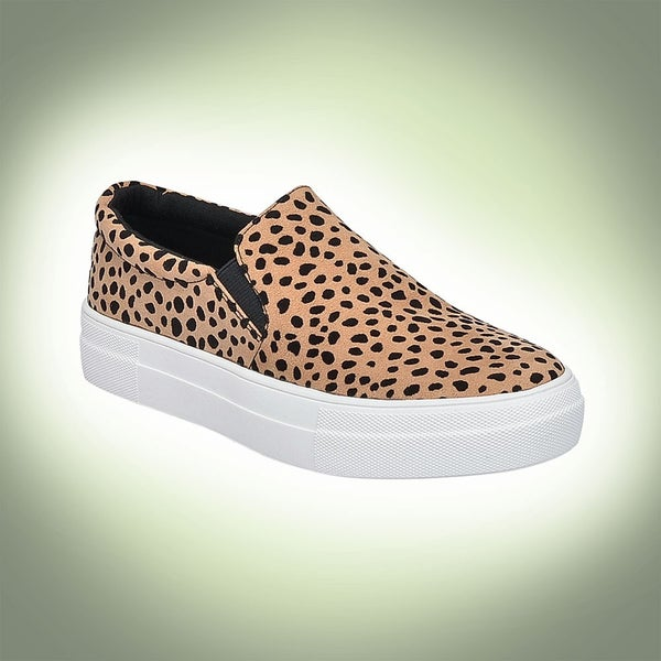 Soda Hike Leopard Slip On