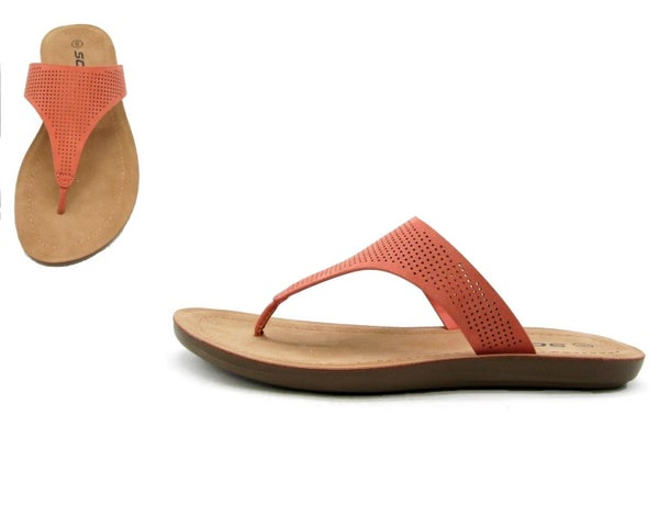 SIZE 6, 6.5 & 7.5 ONLY - Soda Mikayla - Coral
