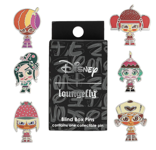 Loungefly Wreck It Ralph Blind Box Pin