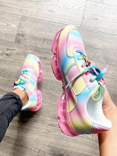 Flow Rainbow Casual Sneakers