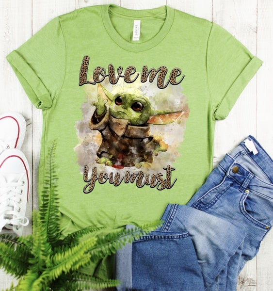 Love Me You Must Graphic Tee