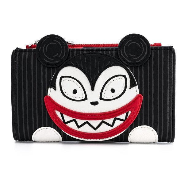 LOUNGEFLY X DISNEY THE NIGHTMARE BEFORE CHRISTMAS SCARY TEDDY AND UNDEAD DUCK WALLET