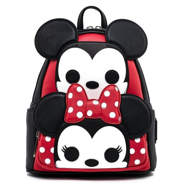 !FUNKO POP! BY LOUNGEFLY MICKEY & MINNIE MOUSE COSPLAY MINI BACKPACK