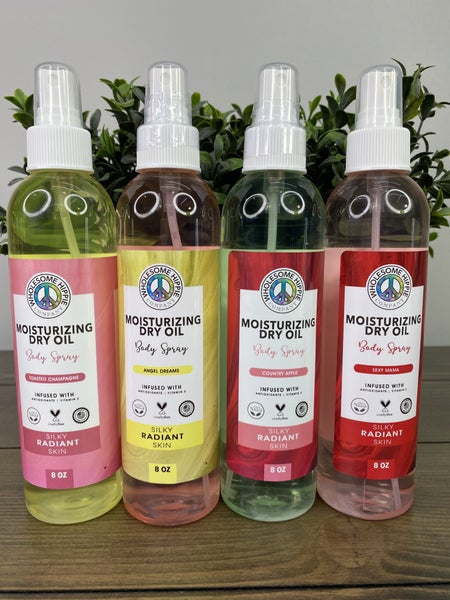 WH Moisturizing Dry Oil Body Sprays