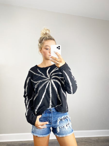 Galazy Black Sweatshirt