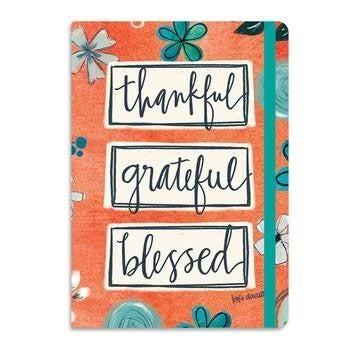 Thankful Grateful Blessed Tiny Journal