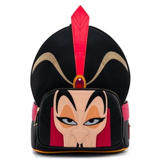 LOUNGEFLY x DISNEY ALADDIN JAFAR COSPLAY MINI BACKPACK