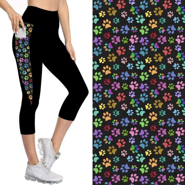 Capris with Pockets | Rainbow Paws