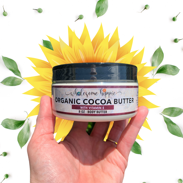8oz Organic Cocoa Butter Skin Conditioning Creme