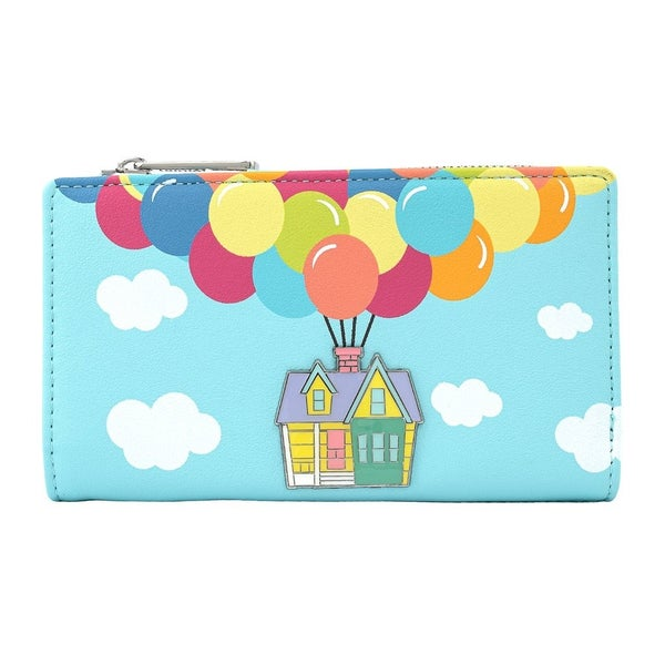 !LOUNGEFLY X PIXAR UP BALLOON HOUSE FLAP WALLET