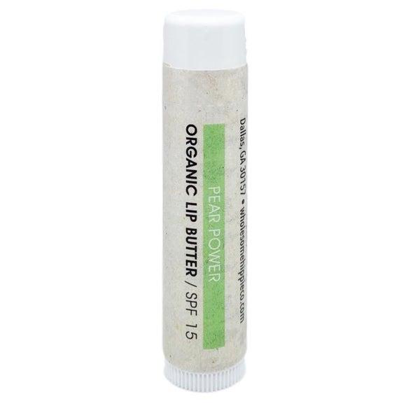Organic Lip Butter - Pear Power SPF15