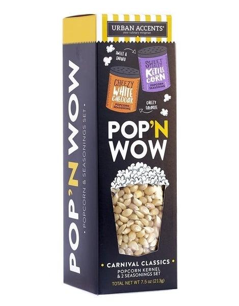 Carnival Classics Pop 'N Wow  Popcorn Set