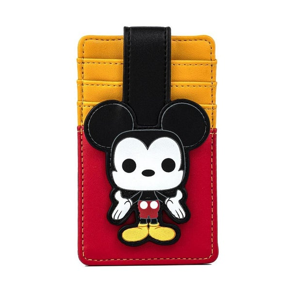 !FUNKO POP! BY LOUNGEFLY DISNEY MICKEY MOUSE CARD HOLDER