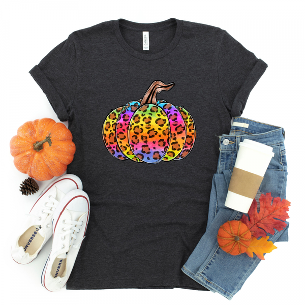 Lisa Frank Pumpkin | Graphic Tee