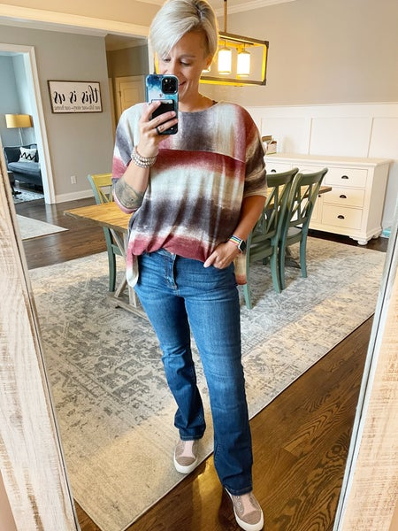 Judy Blue Mid Rise Slim Bootcut Jeans