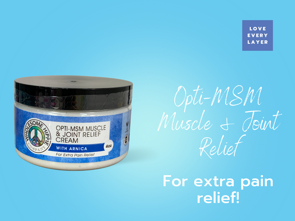 OptiMSM Muscle & Joint Relief Cream + Arnica