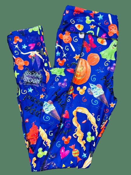 Halloween Mickey Treats Leggings with Pockets
