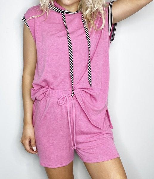 HoneyMe Pink Shorts