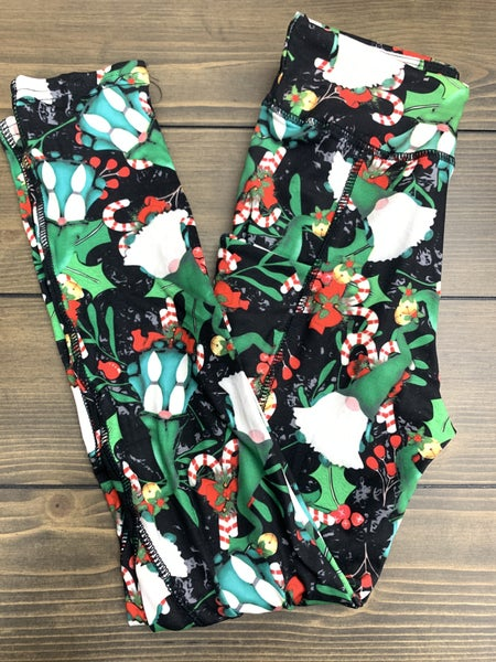 !Christmas Kids Gnome Leggings