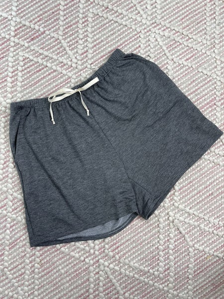 Charcoal French Terry Shorts