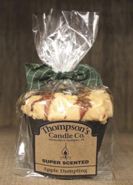 Apple Dumpling Muffin Candle