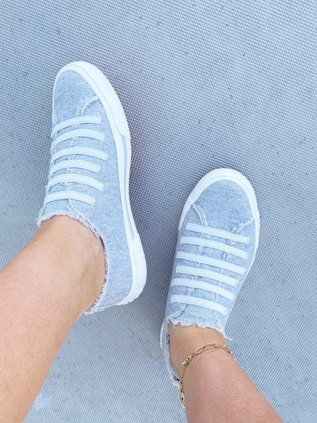 Jokes Grey Jersey Slip On Sneaker
