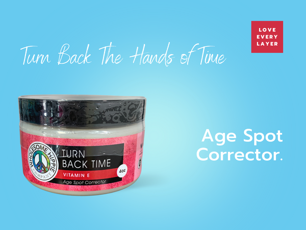 4oz Turn Back Time Age Spot Corrector with Vitamin E