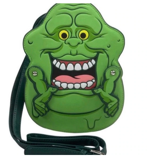 LOUNGEFLY X GHOSTBUSTERS SLIMER CONVERTIBLE BACKPACK