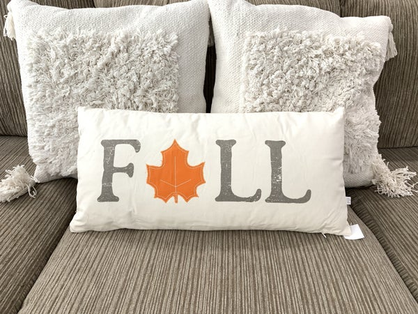 Fall Canvas Pillow
