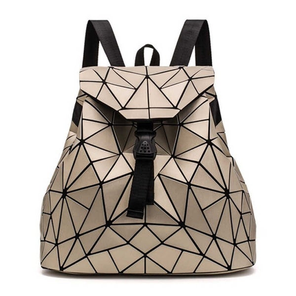 Bao Bao Miyake Inspired Geometric Backpack  ***Multiple Colors
