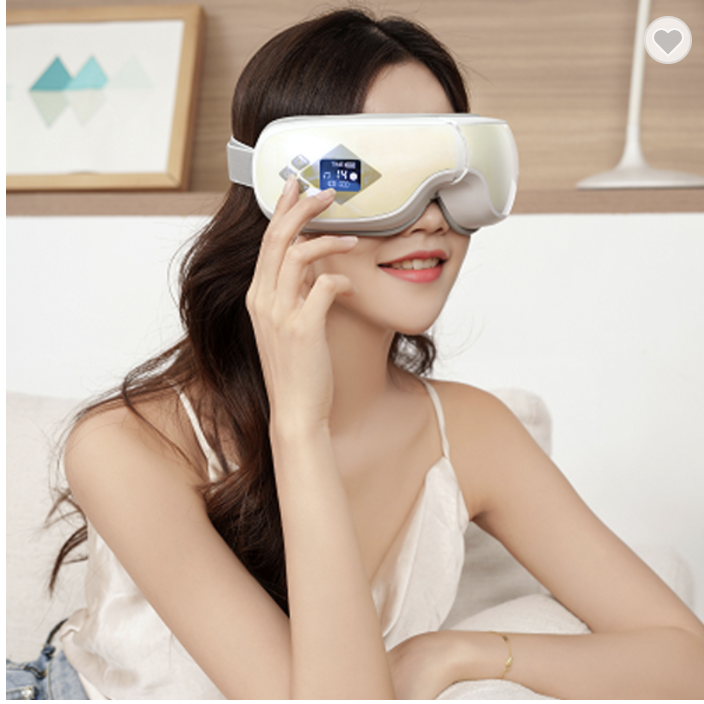 Luxury Portable LCD Eye Massager