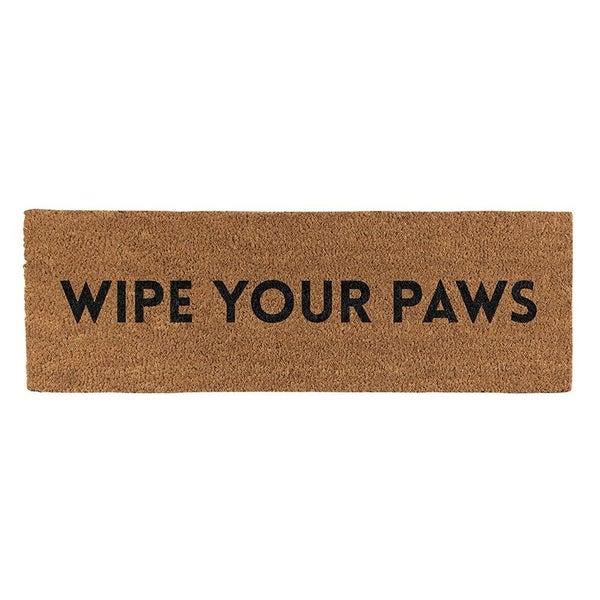 Door Mat - Wipe Your Paws